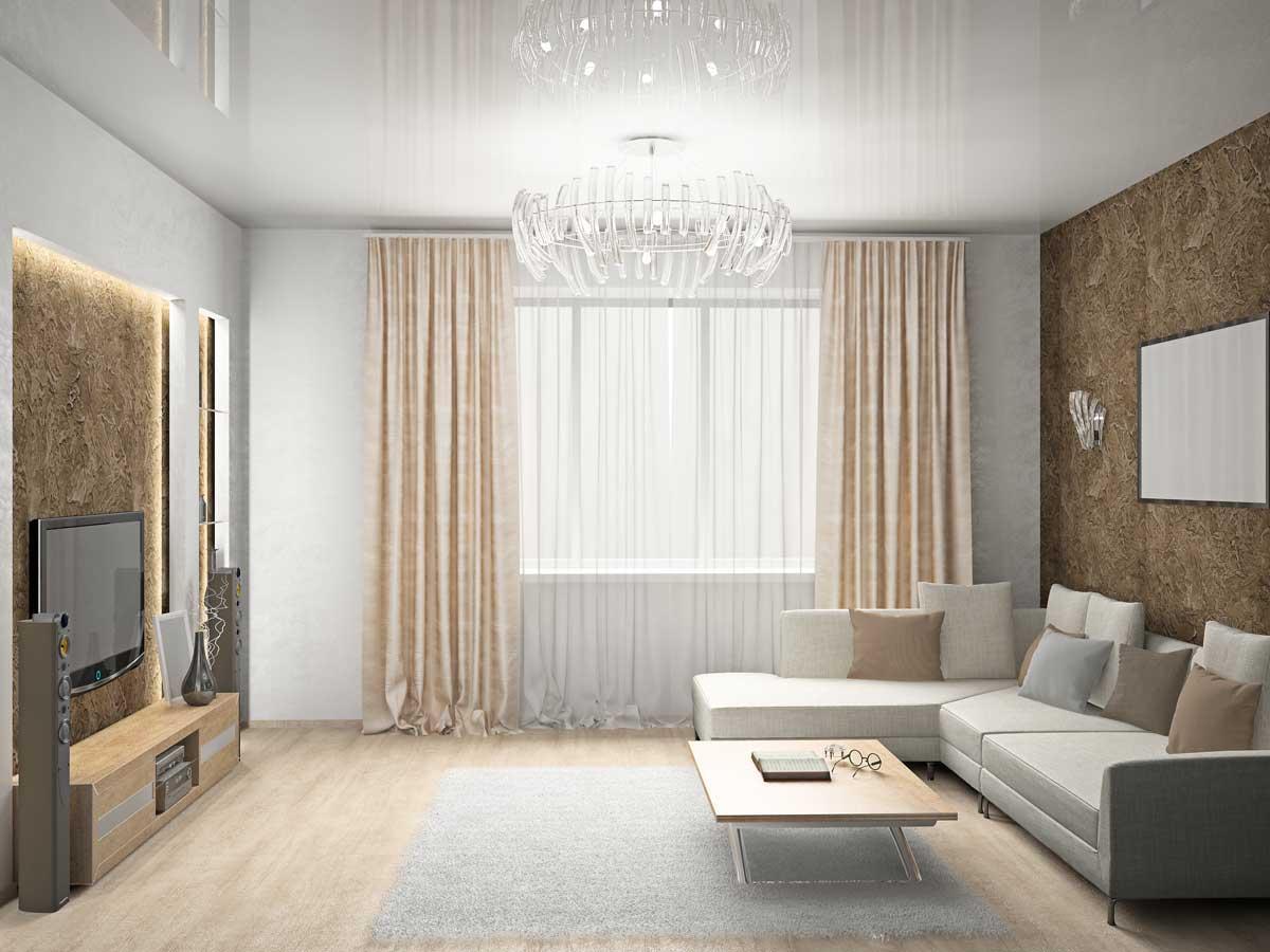 Оформление гостиных комнат фото